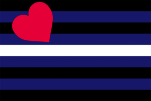 leather latex bdsm Pride Flag